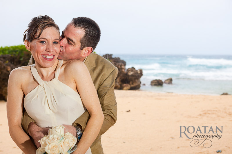 Rainy Windy Caribbean Wedding