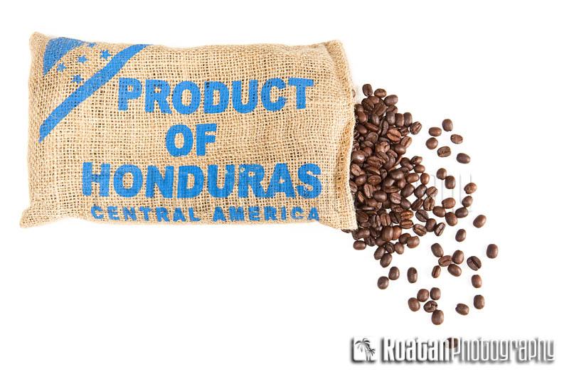 Hondruas coffee sack