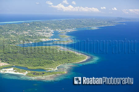 Aerial view archives roatan photography