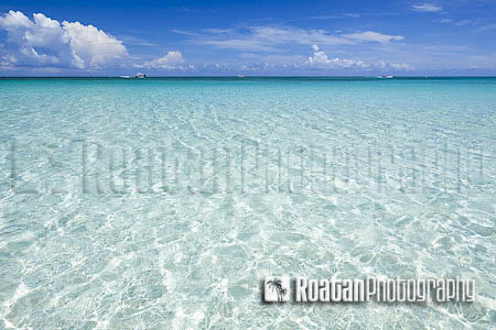 Summer Tropical Beach Background stock photo