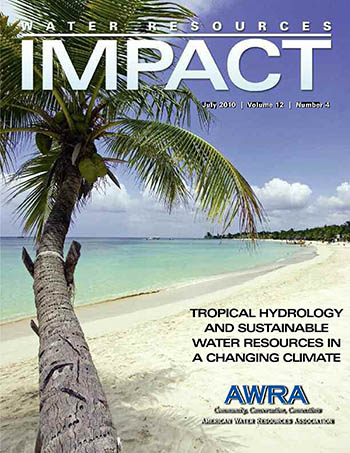 Water Resources Impact Magazine Cover July 2012 beach photo