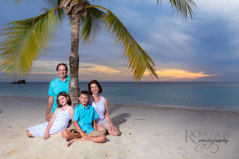 Beach Sunset Family Portraits
