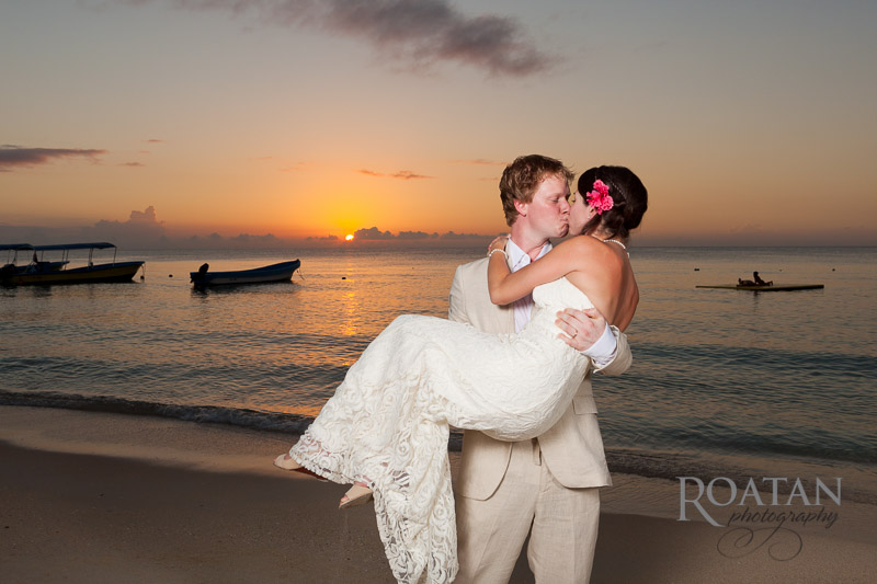 Beach Wedding at Island Perl
