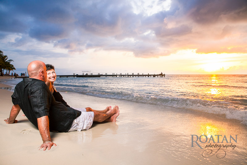 Couple Beach Vacation Portraits