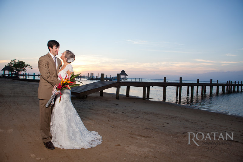 Wedding Photography on the beach at Blue Bahia
