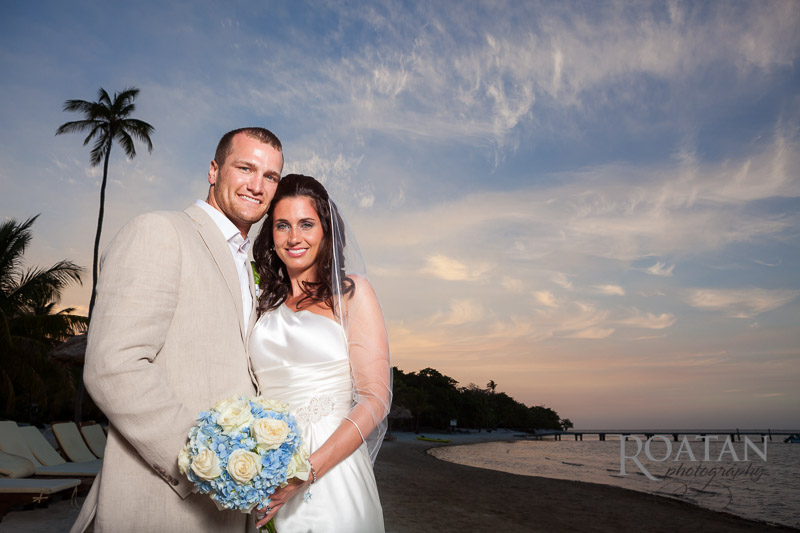 Wedding on the beach at Palmetto Bay